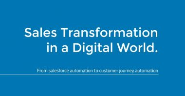 [Whitepaper] Sales Transformation in a Digital World
